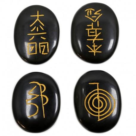 Juego piedras - símbolos reiki