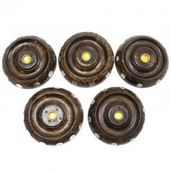 5 Soportes disco flor para varillas y conos incienso