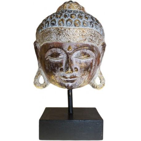 Peana Buda madera tallada 28cm