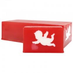 Jabón diseño querubín - canela