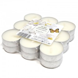 3 Packs 18 velas nightlights - jazmín