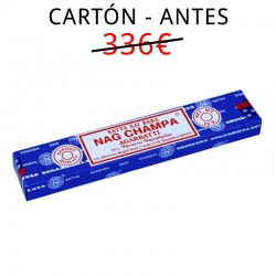 600 paquetes Nag Champa 15gm (Carton)