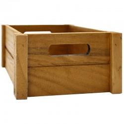 Caja madera caoba 20x20x10cm
