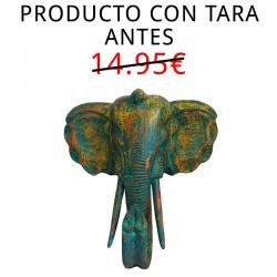 Cabeza elefante Decapada 50cm