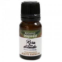 Aceite esencial rosa diluido