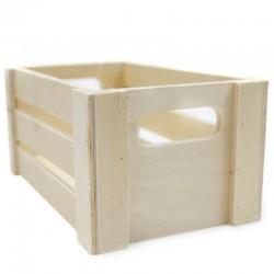 Caja madera natural 20x12.5x9.5cm