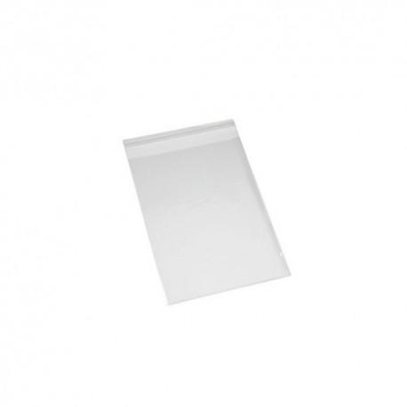 Pack 500 unds. bolsa PP con solapa adhesiva 6x8