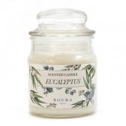 8 velas botánicas - eucalipto
