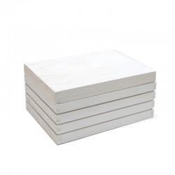 Caja madera con tapa madera natural 19.5x14.5x9cm