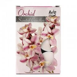 12 packs Vela Night Light - orquidea