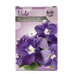 12 packs Vela Night Light - violeta