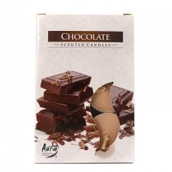 12 packs Vela Night Light - chocolate