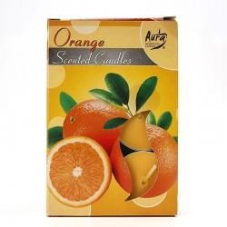 12 packs Vela Night Light - naranja