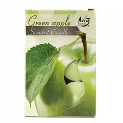 12 packs Vela Night Light - manzana verde