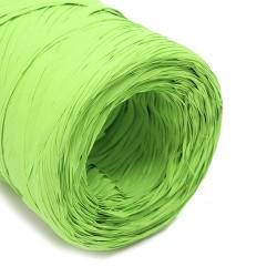 Rollo rafia sintética 200m - verde lima