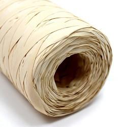 Rollo rafia sintética 200m - natural