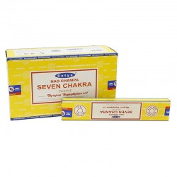12 Incienso Satya 15gr - 7 Chakras