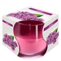 6 Velas perfumadas en vaso - Lilas