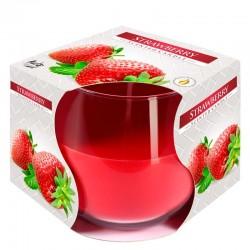 6 Velas perfumadas en vaso - Fresa