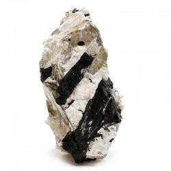 Turmalina matriz cuarzo roca - 500 a 750grs.