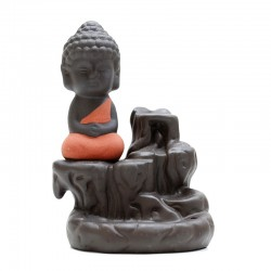 Fuente para conos de reflujo - Buda naranja paisaje