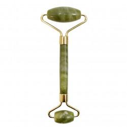 Masajeador facial rodillo - jade verde