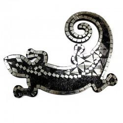 Mosaico Salamandra grande - Rojo/Blanco/Negro