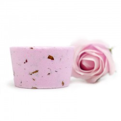 5 Bombas ducha - pétalos de rosa