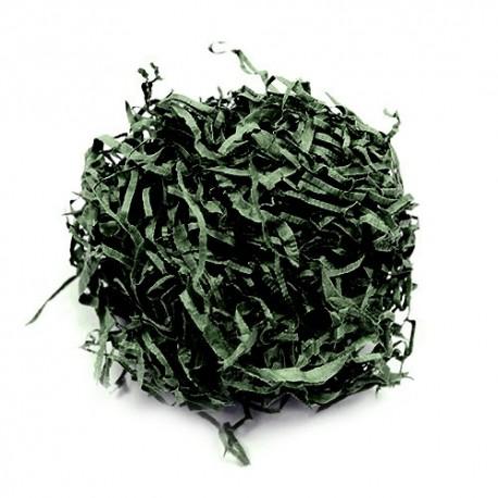Viruta papel picado verde musgo 1Kg