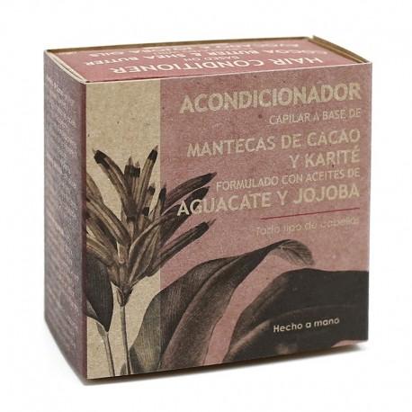 3 Acondicionador sólido - Manteca de cacao y karité