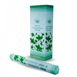 6 packs Incienso Green Tree - Menta y eucalipto