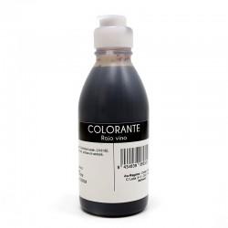 Colorante líquido - rojo vino