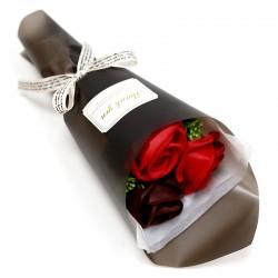 Ramito rosas jabón en caja - rojo