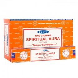 12 Incienso Satya 15gr - Limpieza del aura