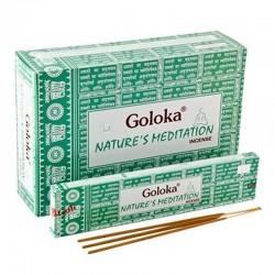 12 packs Goloka Nature's - Meditacion 15gr