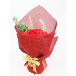 Ramo Flores de Jabón - rojo