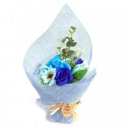 Ramo Flores de Jabón - azul