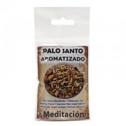 Palo santo ritualizado - meditacion