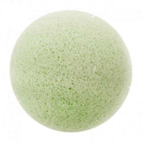 Esponjas konjac verde - piel mixta