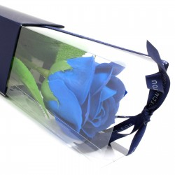 6 Rosas simple - azul