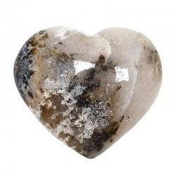Piedras corazón - calcedonia 200 a225gr.