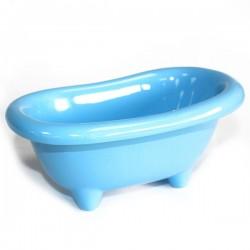 4 Mini bañera cerámica - celeste