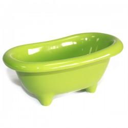 4 Mini bañera cerámica - verde