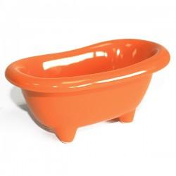 4 Mini bañera cerámica - naranja