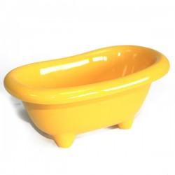 4 Mini bañera cerámica - limón