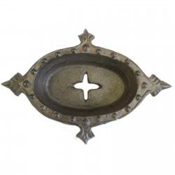 1 Jabonera hierro fundido arte natural