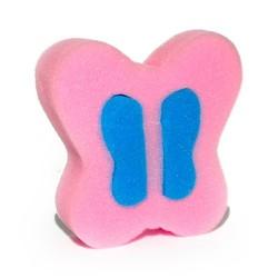 10 Esponjas mariposa rosa