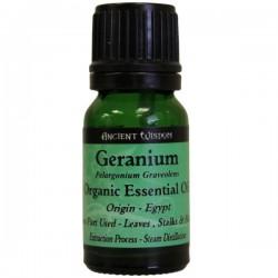 Aceite esencial orgánico geranio