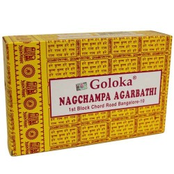 50 packs de 12 Goloka Nag Champa 16gr