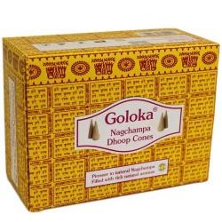 12 Goloka Nag Champa conos